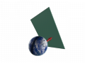 Przejście Ziemi przez ścianę domenową pola aksjonowego